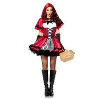 COSTUME SEXY GOTHIC RED RIDING HOOD