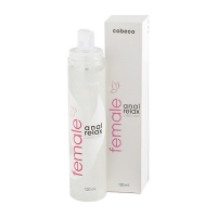 LUBRIFICANTE ANALE FEMALE COBECO ANAL RELAX (120ML)