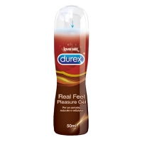 LUBRIFICANTE DUREX REAL FEEL PLEASURE GEL