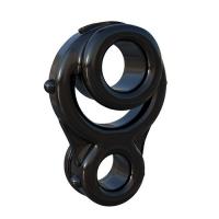 ANELLO FALLICO CON COSTRITTIVO TESTICOLI FANTASY C-RINGZ IRONMAN TRIPLE RING