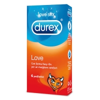 PROFILATTICI DUREX LOVE 6 PZ
