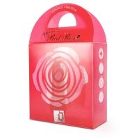 VIBRATORE DESIGN BLOOMING RED ROSE 6X LIPSTICK VIBE
