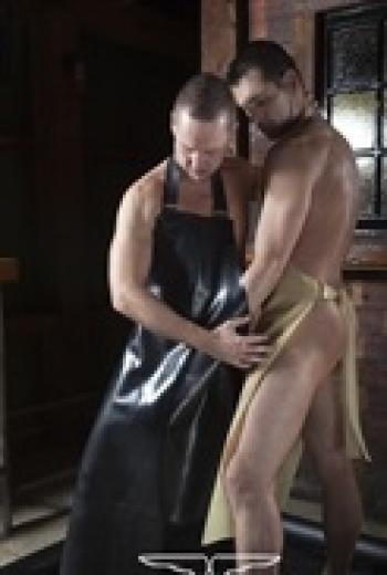 Rubber suits Rubber Butchers Apron