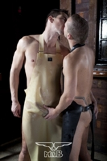 Rubber suits Rubber Butchers Apron