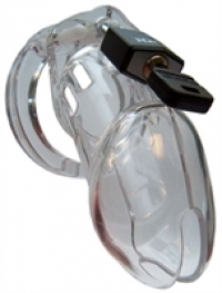 Cockrings CBX 6000 Chastity Cage Clear