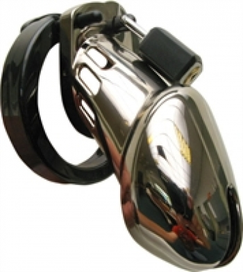 Cockrings CBX 6000 Chastity Cage Chrome