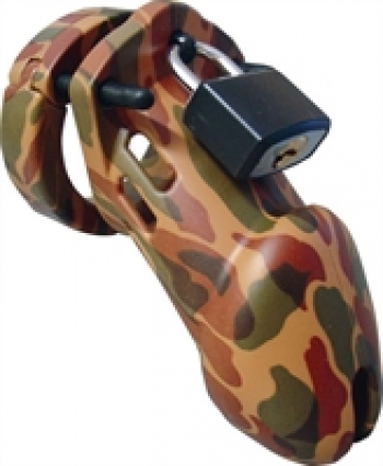 Cockrings CBX 6000 Chastity Cage Camouflage