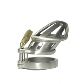BON4M Metal Chastity Cage Small