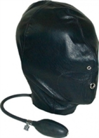 Hoods Mister B Leather Inflatable Hood
