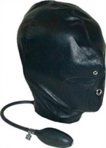 Hoods Mister B Leather Inflatable Hood