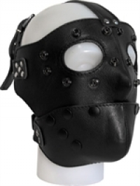 Hoods Mister B Detachable Leather Face Mask