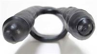 Dildoes Oxballs 3Way Triple Penetrator Black